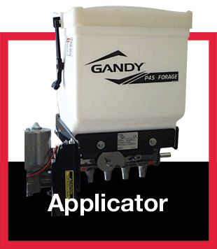 Gandy Forage Additive Applicator