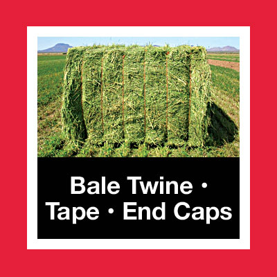 Bale Twine Tape End Caps